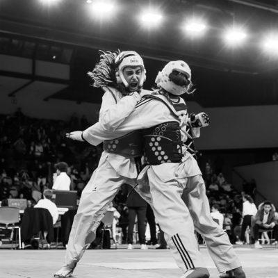 Photographe sport taekwondo