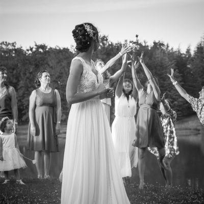 Photographe de mariage - bouquet de la mariée